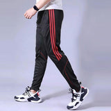 Men Sports Pants Running Zipper Pockets Athletic Football Soccer Training Sport Pants Elasticity cheap jerseys cheap jerseys from china cheap jerseys china 4