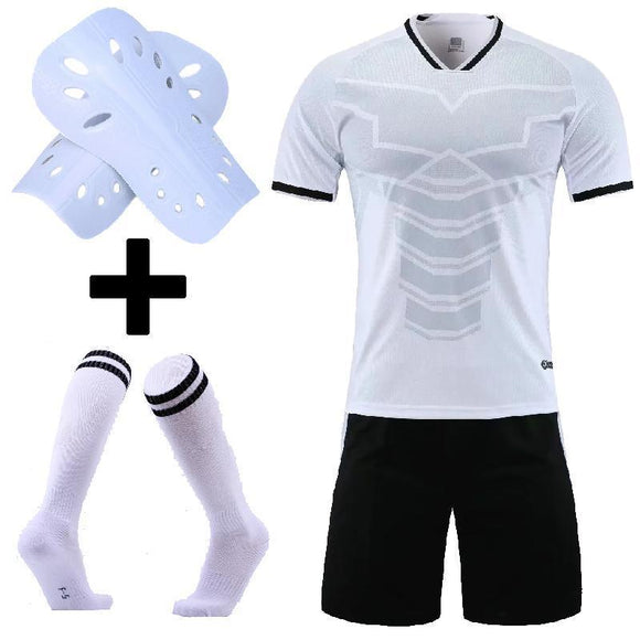 Adult Kids Soccer Jersey Set Survetement Football Kit Custom Men Child Futbol Training Uniforms cheap jerseys cheap jerseys from china cheap jerseys china 7