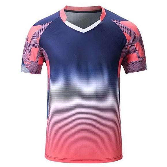 Men Women Short Sleeve Badminton Wear Shirts Gym Sport Clothing Outdoor Running T-shirt Sportswear cheap jerseys cheap jerseys from china cheap jerseys china 2