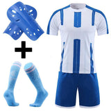 Adult Kids Soccer Jersey Set Survetement Football Kit Custom Men Child Futbol Training Uniforms cheap jerseys cheap jerseys from china cheap jerseys china 2