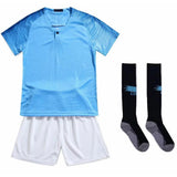 Blank Soccer Jersey Set Children Football Uniforms Boys Girls Custom Football Jersey Training Suits cheap jerseys cheap jerseys from china cheap jerseys china 7