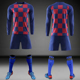 Children Sets Long Sleeve Blank Winter Soccer Jersey Uniforms Boys Girls Custom Soccer Jerseys Set cheap jerseys cheap jerseys from china cheap jerseys china 11