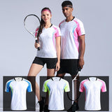 New Tennis Shirt Women/men's Sports Shirt Pol O Badminton Wear Shirts Women Men Table Volleyball cheap jerseys cheap jerseys from china cheap jerseys china 7