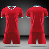 20/21 Blank New Men's Women Kids Soccer Jersey Set Football Match Uniforms Men Soccer Clothing Sets cheap jerseys cheap jerseys from china cheap jerseys china 4