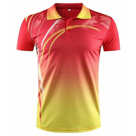 2020 Summer Cheap Badminton Shirts Men/women,sport Short-sleeved Polo Shirts Tennis ,table Tennis cheap jerseys cheap jerseys from china cheap jerseys china 3