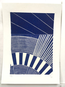 Original Linocut Print A5 (1 of 6)