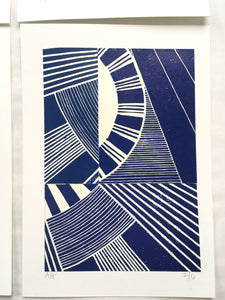Original Linocut Print A5 (2 of 6)