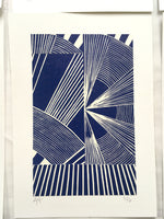 Load image into Gallery viewer, Original Linocut Print A5 (3 of 6)