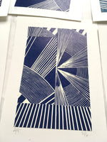 Load image into Gallery viewer, Copy of Original Linocut Print A5 (4 of 6)