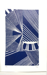 Original Linocut Print A5 (6 of 6)