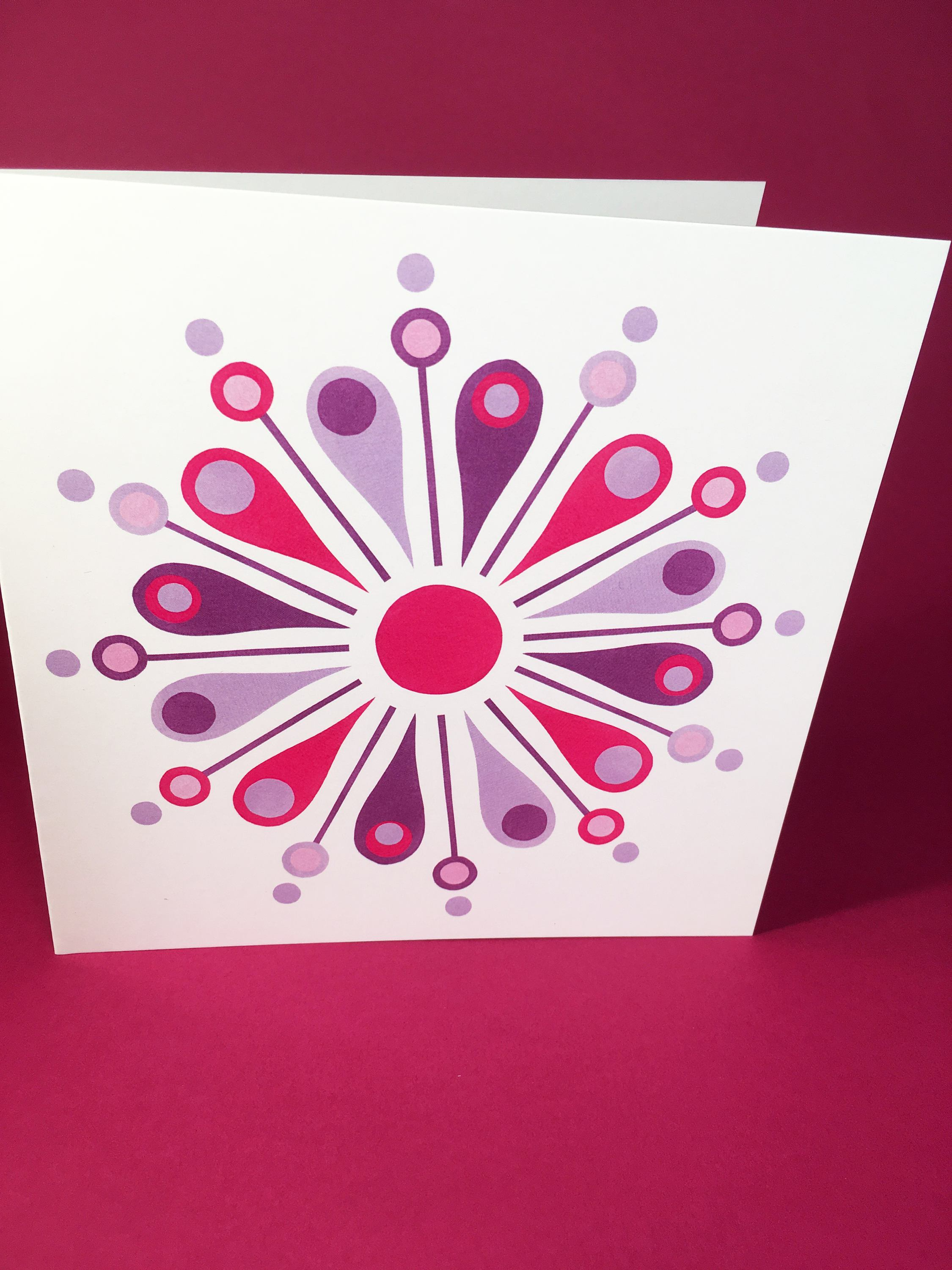 Artichoke Greeting Card, blank inside