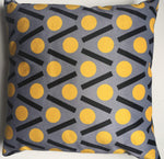 Load image into Gallery viewer, Chevron velvet cushion