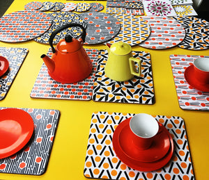 set of 2 extra large placemats