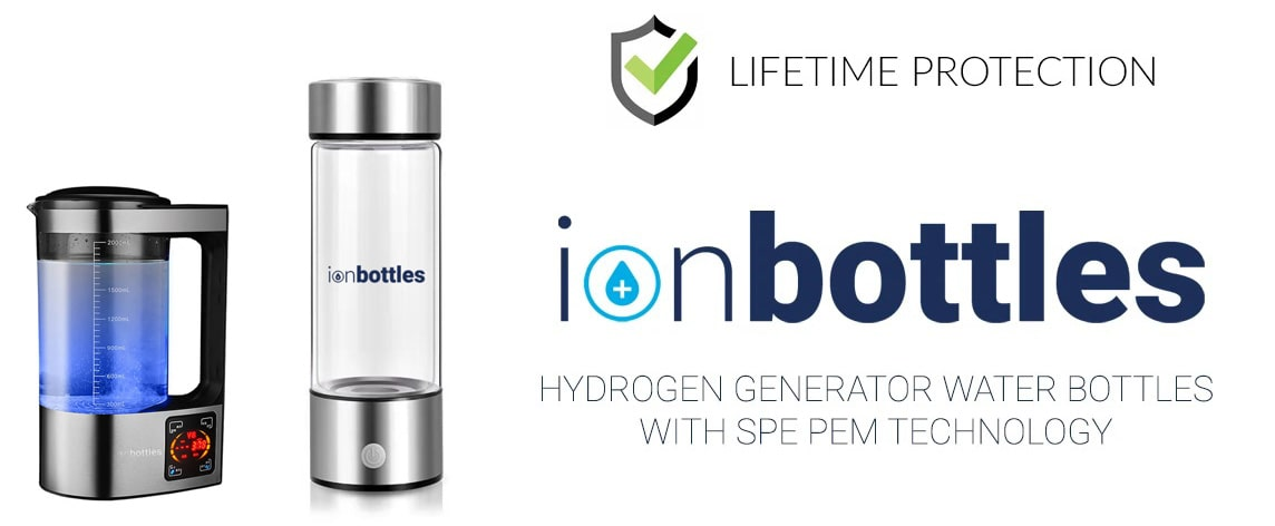 Lifetime Protection Plan offered by IonBottles.com