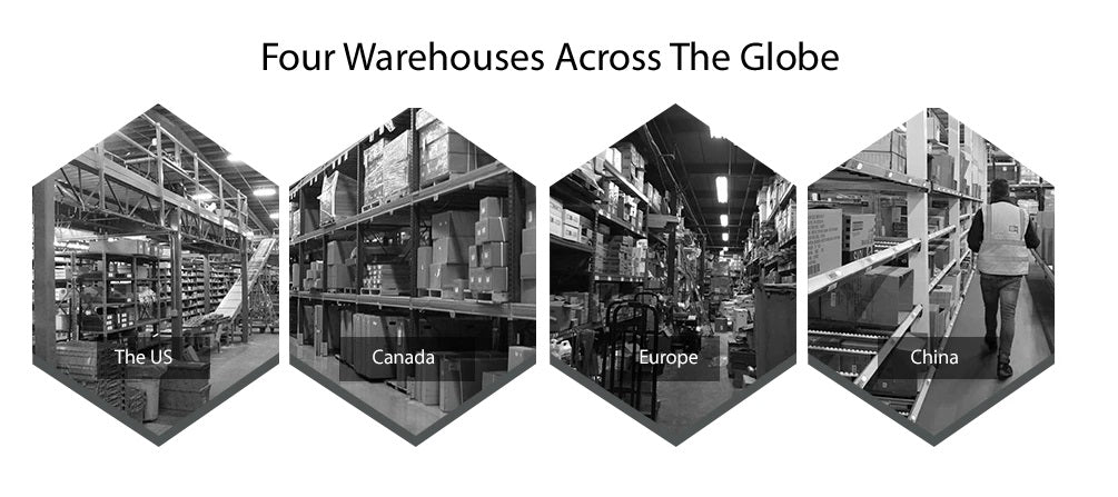 Our Warehouses Around The World