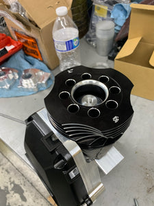Billet Engine Shroud for Round Head Shells