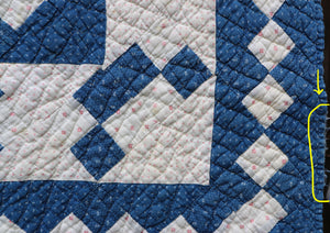 Center Medallion Crib Quilt