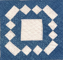 Load image into Gallery viewer, Center Medallion Crib Quilt