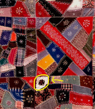Load image into Gallery viewer, Wool Crazy Quilt