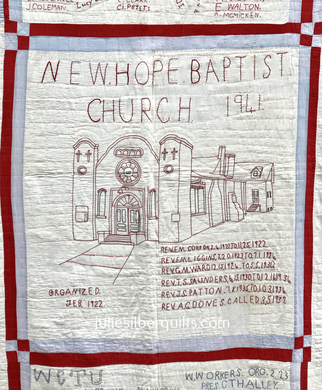 New Hope Baptist Church Quilt