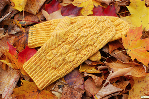 Pemba Mitts And Headband Pattern