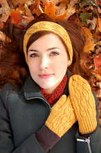 Load image into Gallery viewer, Pemba Mitts And Headband Pattern