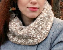 Load image into Gallery viewer, Xanadu Snowflake Cowl Pattern