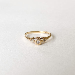 Vintage Diamond Illusion Ring