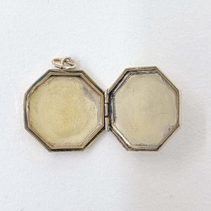 Vintage Octagonal Locket