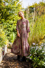 Load image into Gallery viewer, Silk Button Maxi Dress XL