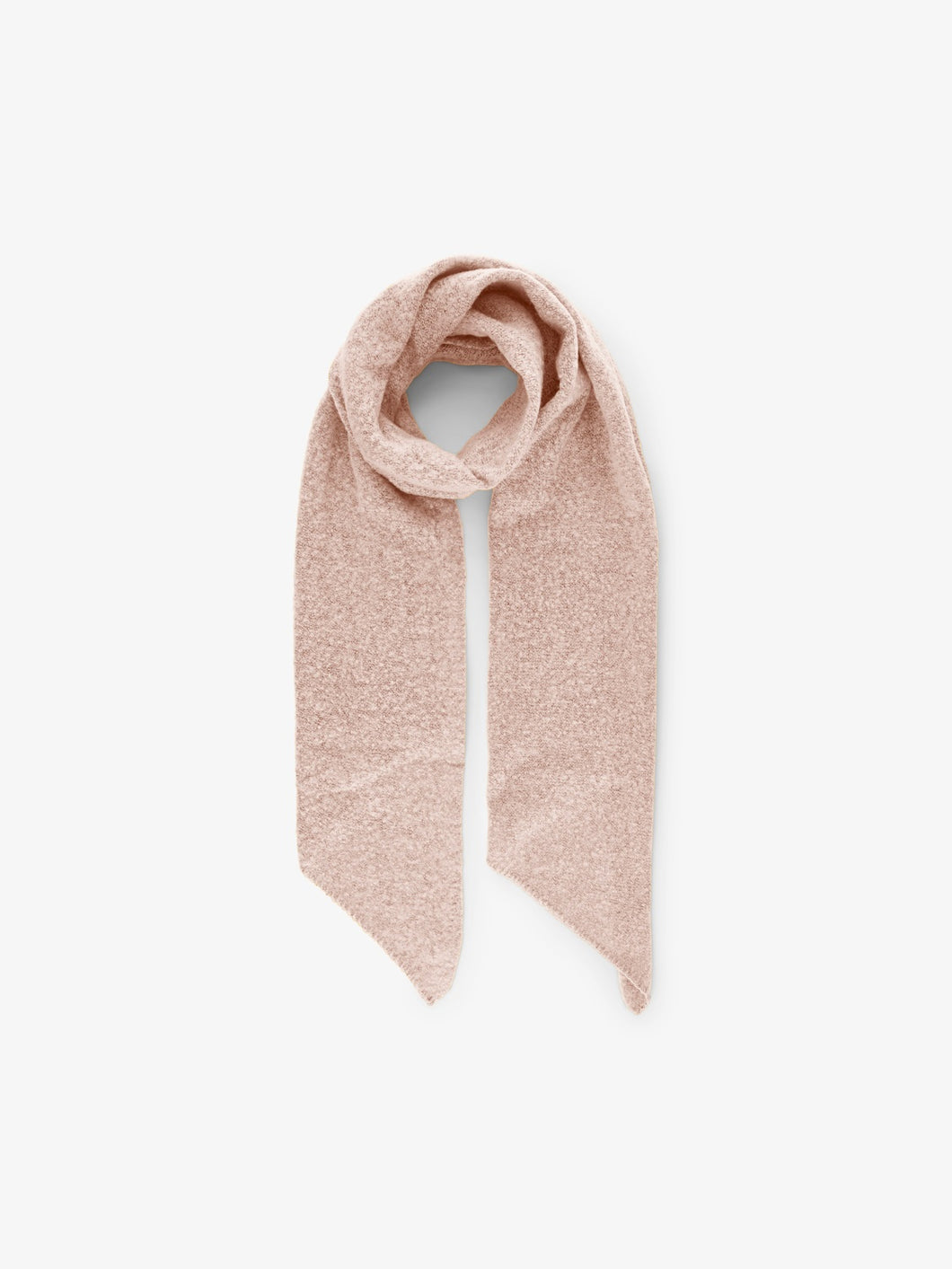 Pyron Long Scarf in Cameo Rose