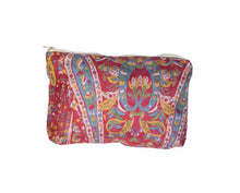 Load image into Gallery viewer, Upcycled Silk Pouch