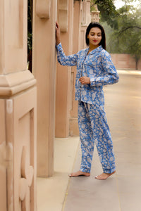 Cornflower Blue 3 Piece PJ Set