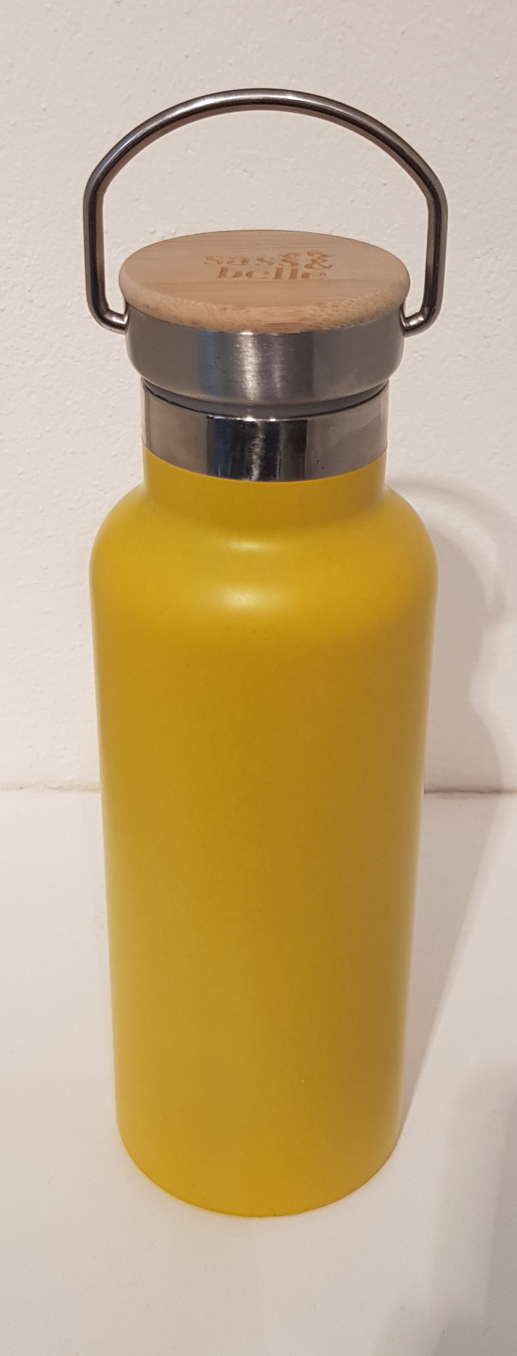 Mustard Water Bottle