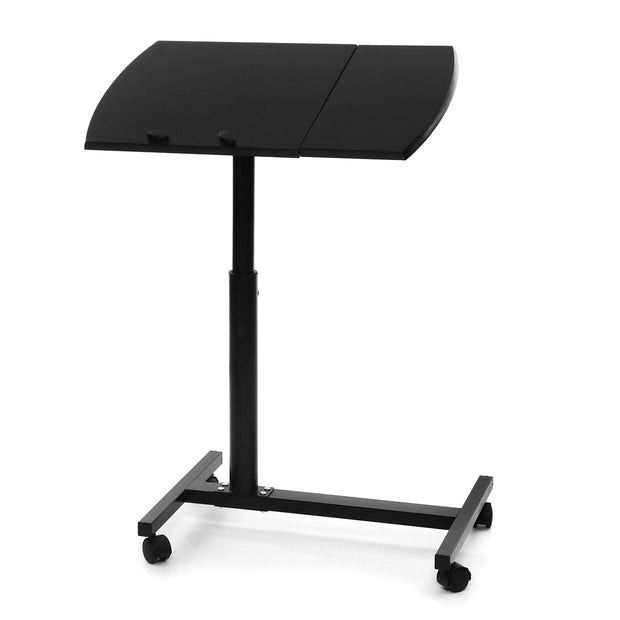 Adjustable Height Rolling Desk