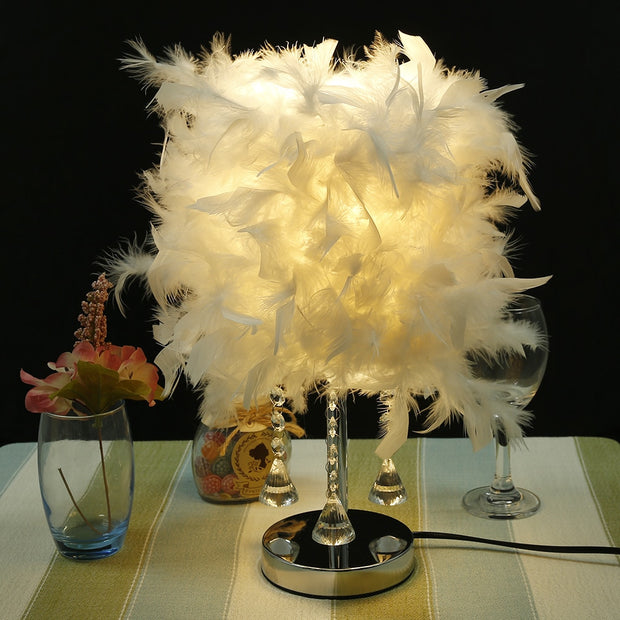 Feather Desk Lamp