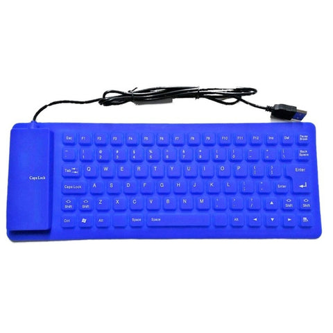 Flexible Silicone PC Keyboard