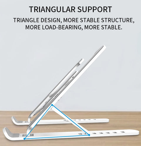 Foldable Laptop Support Base