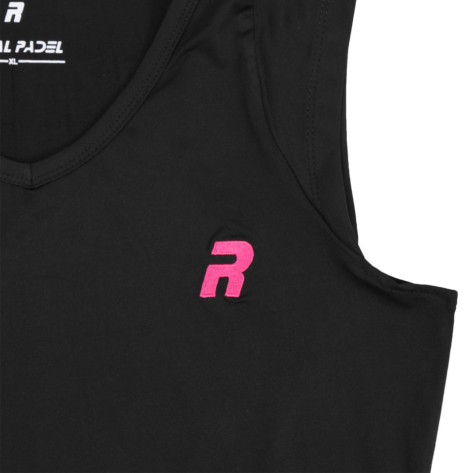 ROYAL PADEL CANOTTA DA  DONNA DRI FIT - BLACK