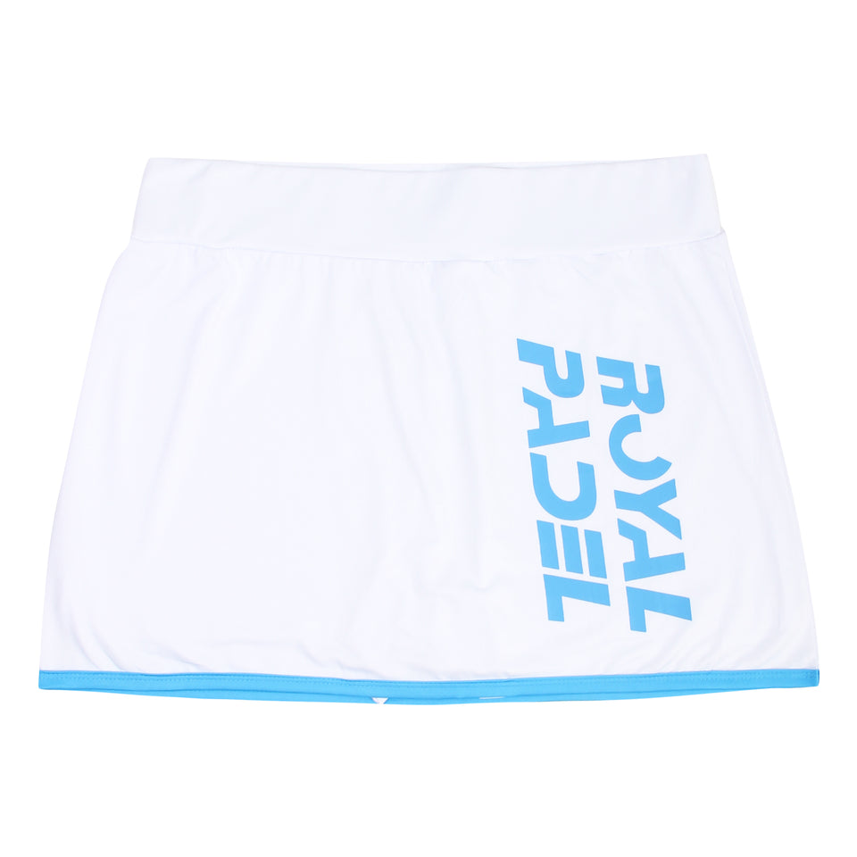 ROYAL PADEL GONNA CON PANTALONCINI INTERNI DA DONNA - WHITE
