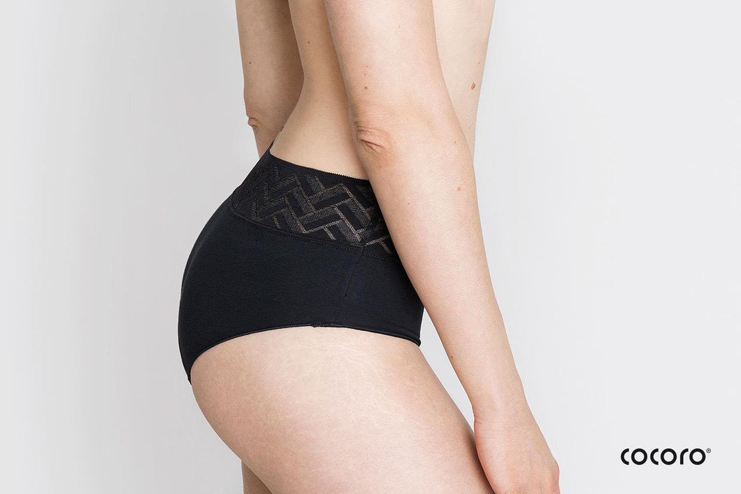 Period Panty Classic Aran, Period Undies, made in Catalunya, High quality absorbent undergarment made of cotton. Comfortable Underwear for menstruation, vaginal discharge or small urine leaks - Deohako E Pilalu webshop - Depilalu - DEP