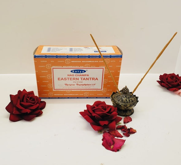 Incense and Incense Holder Luxury Scent Package - Eastern Tantra - EMPORIUM WORTHING