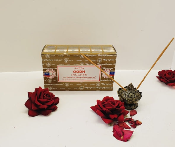 Incense and Incense Holder Luxury Scent Package - Oodh - EMPORIUM WORTHING