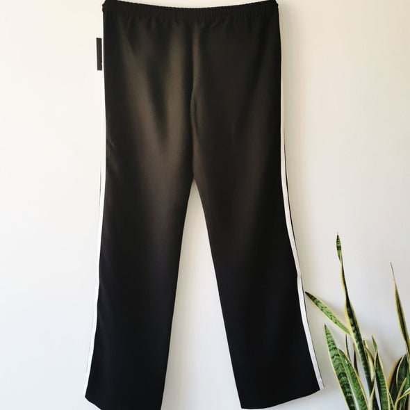 Juicy Couture Black and White Sweatpants - size 16 - EMPORIUM WORTHING