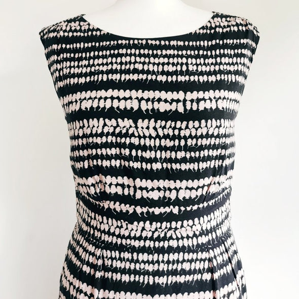 Poem by Oliver Bonas Pattern Dress - size 10 - EMPORIUM WORTHING