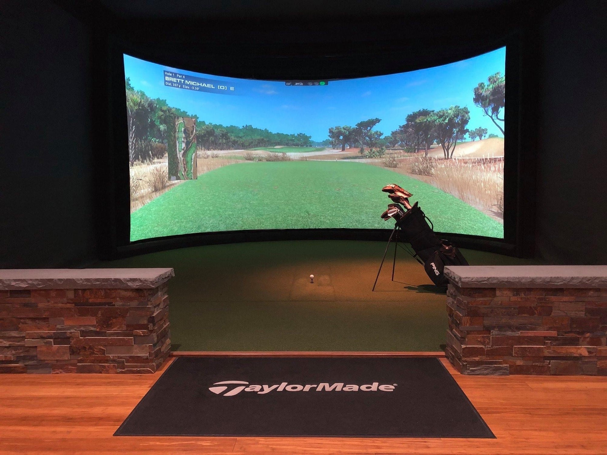 1-2 Player Golf Simulator Rental