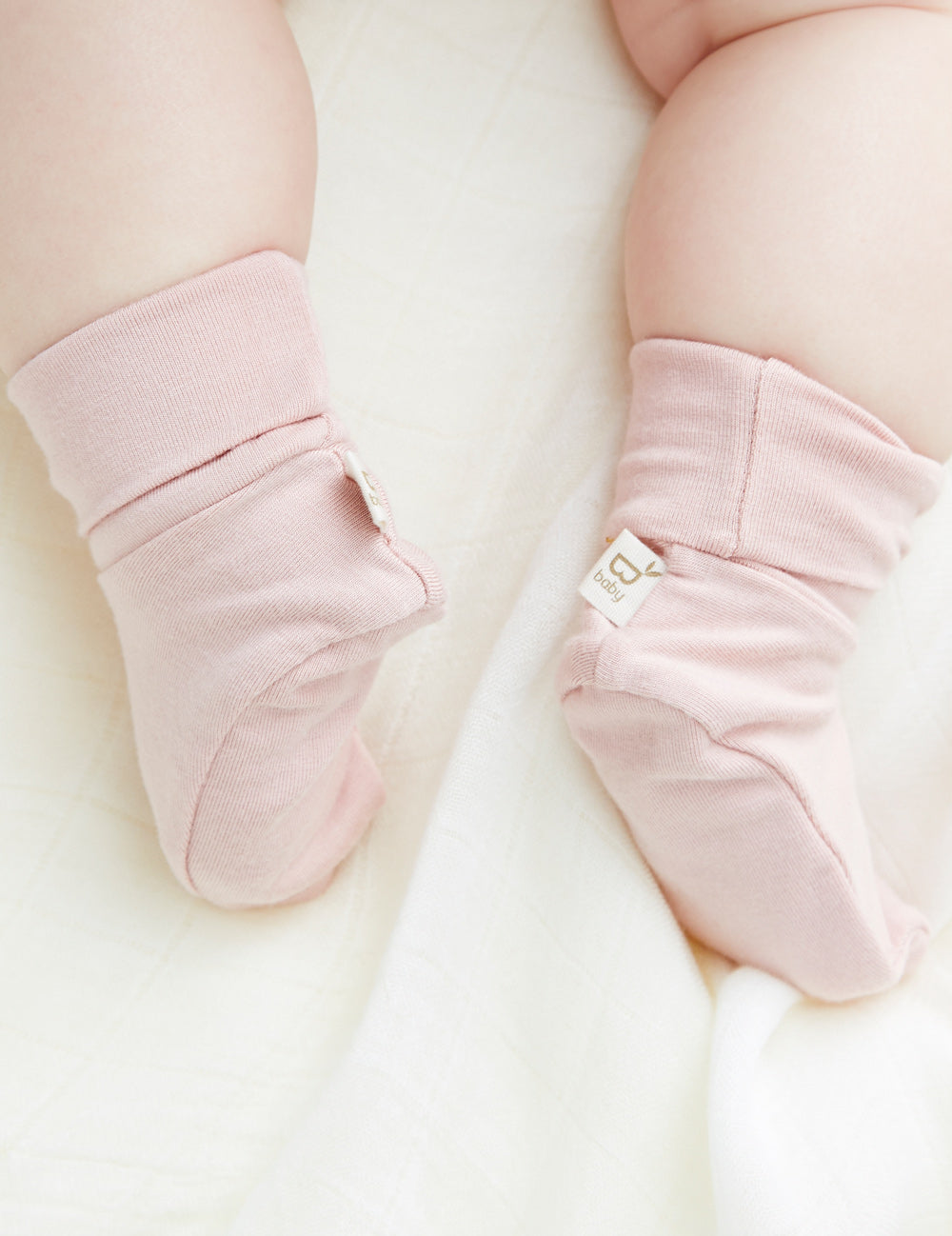Baby Booties Rose - Boody Baby