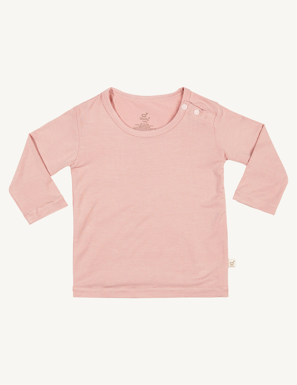 Baby Long Sleeve Top Rose - Boody Baby