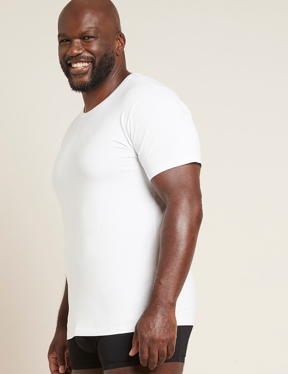 Men's Crew Neck T-Shirt - White - Boody Eco Wear
