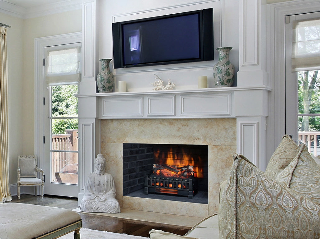 Electric Fireplace Plug-In Inserts